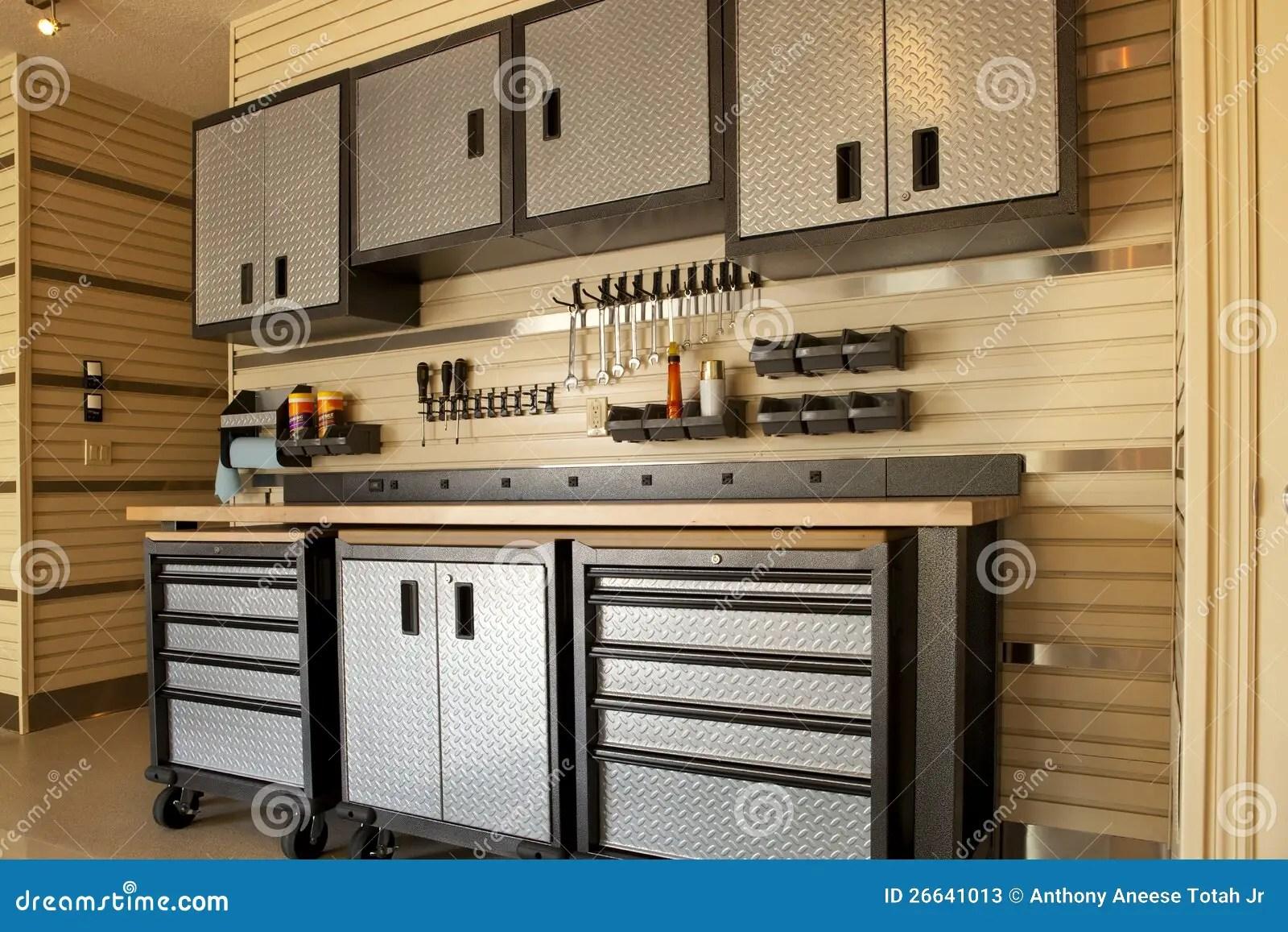 Garage Workspace Stock Photos  Image 26641013