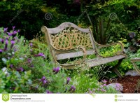 Garden Bench Royalty Free Stock Photo - Image: 812835