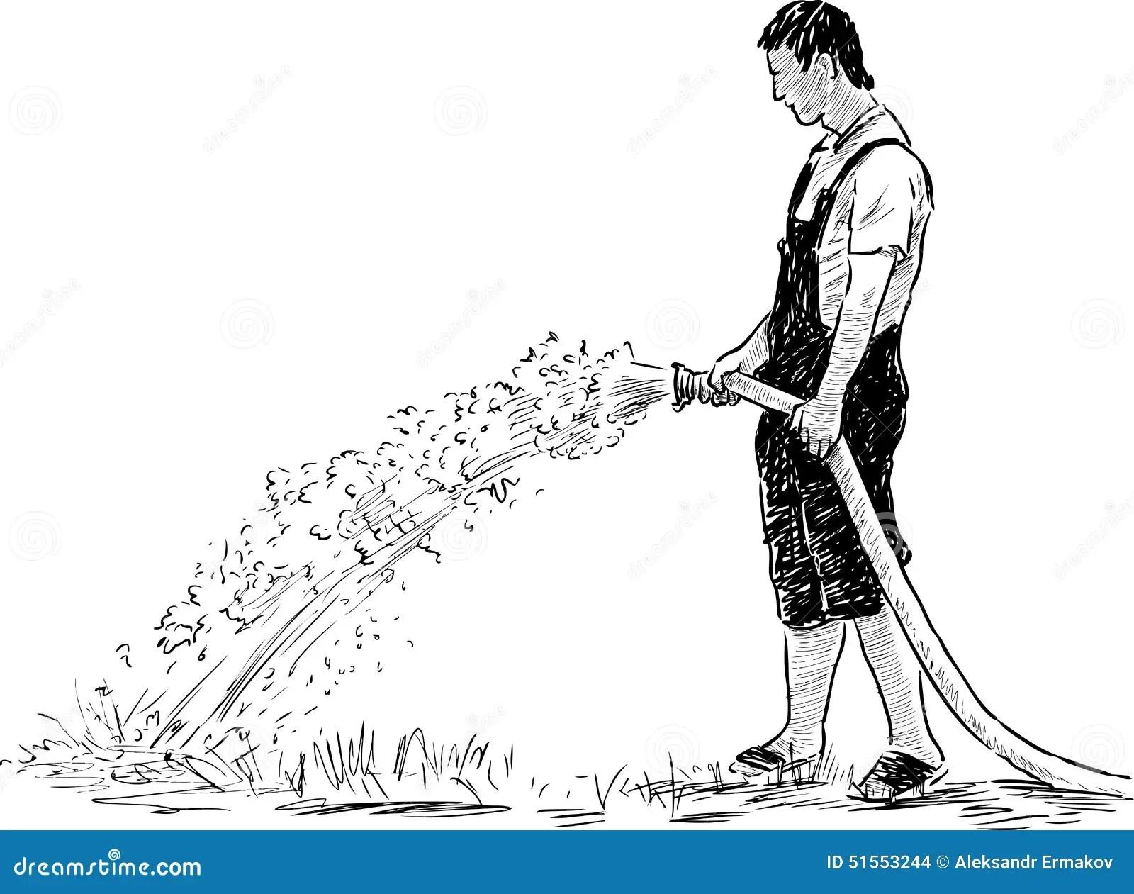 Gardener Stock Vector