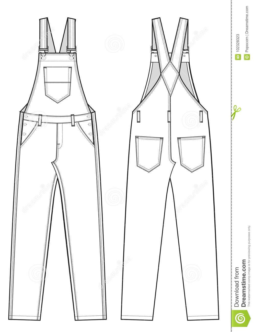 Dungaree Cartoons, Illustrations & Vector Stock Images