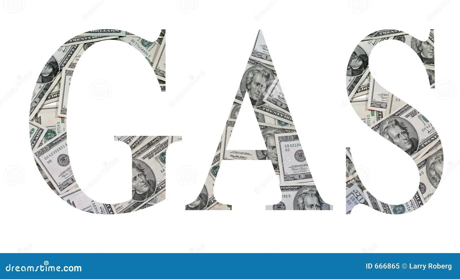 Gas money stock illustration. Illustration of twenty