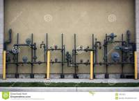 Pipes - Grungy Wooden Headline On Maple - 3D Rendered ...