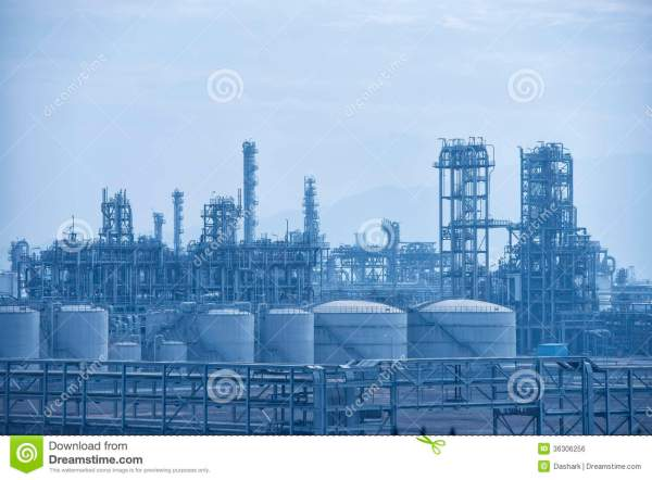 gas processing factory royalty
