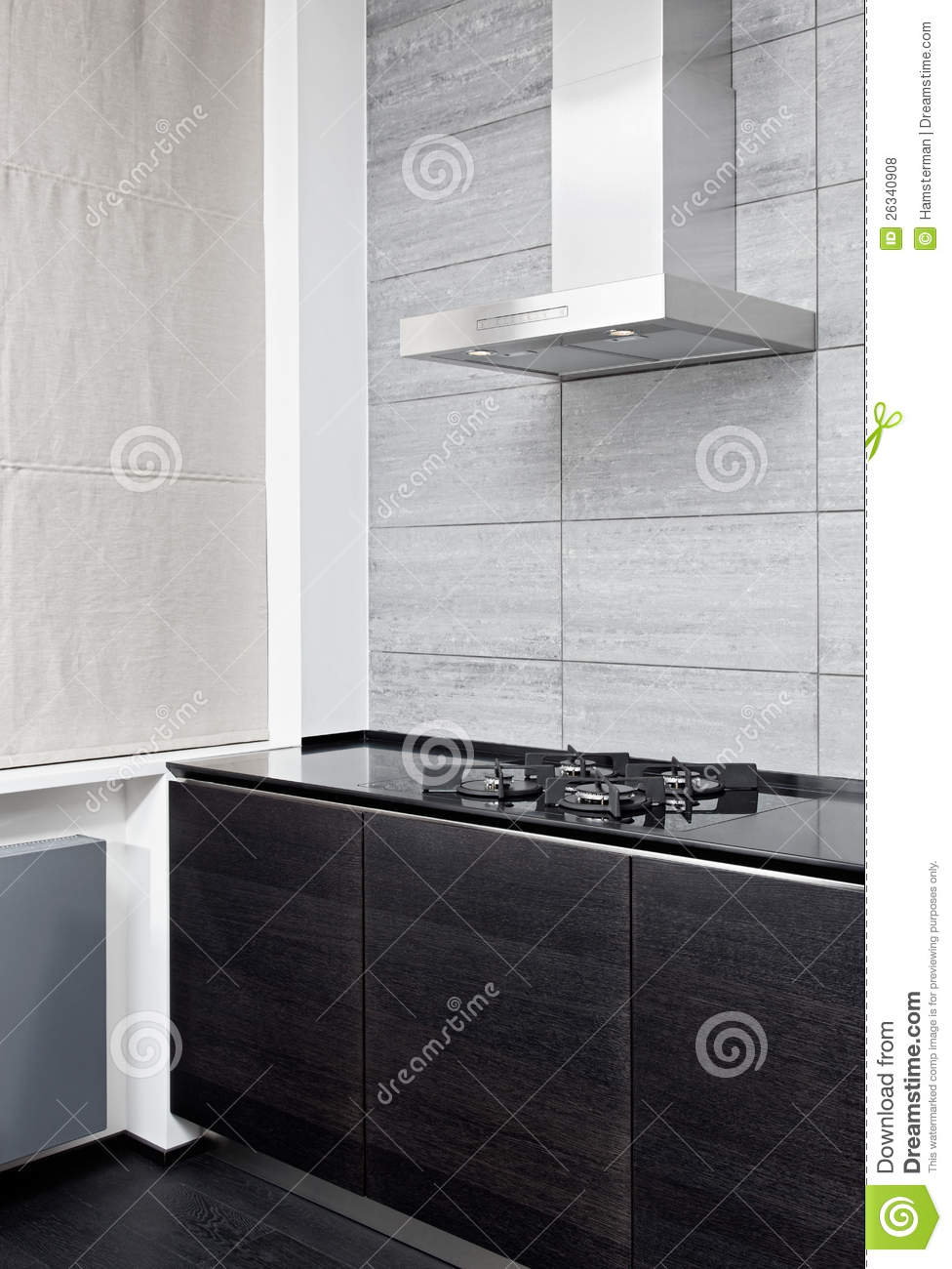 build kitchen table hotels with kitchens in ocean city md gas stove and cooking hood on modern royalty free ...