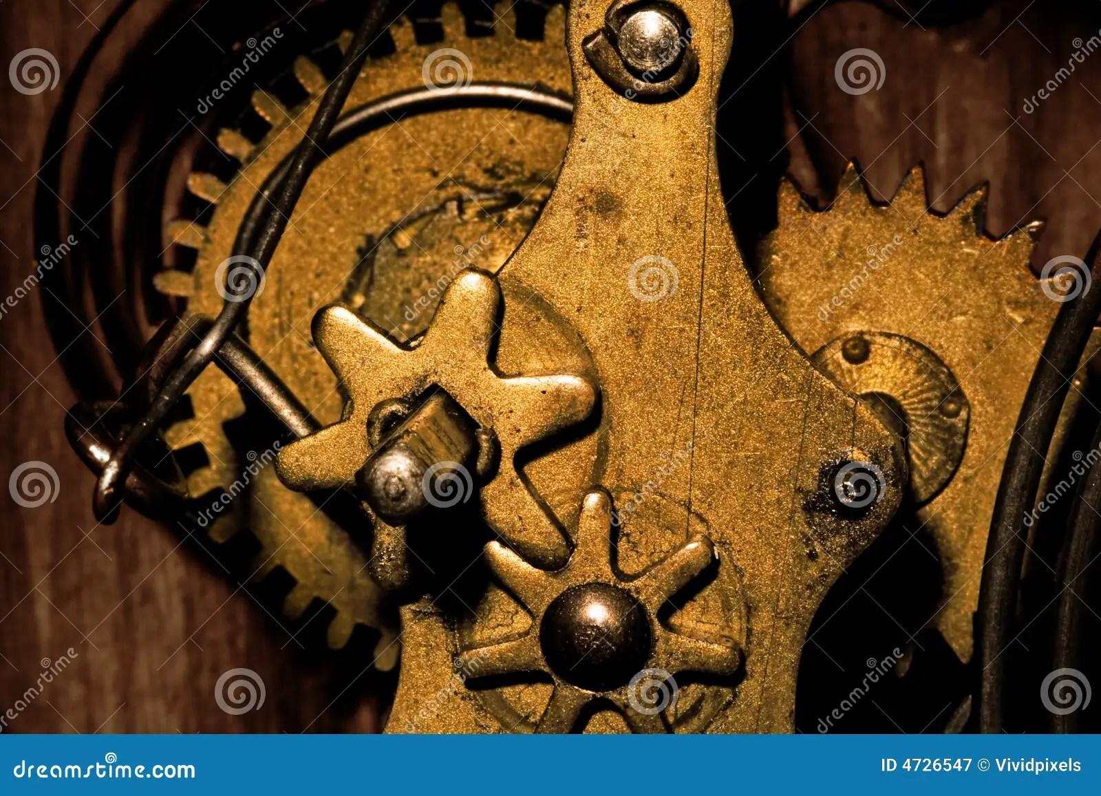 gears inside an old