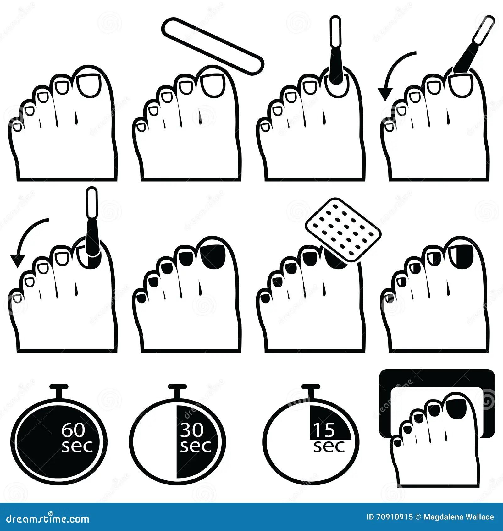 Summer Skin Protection Icons Cartoon Vector