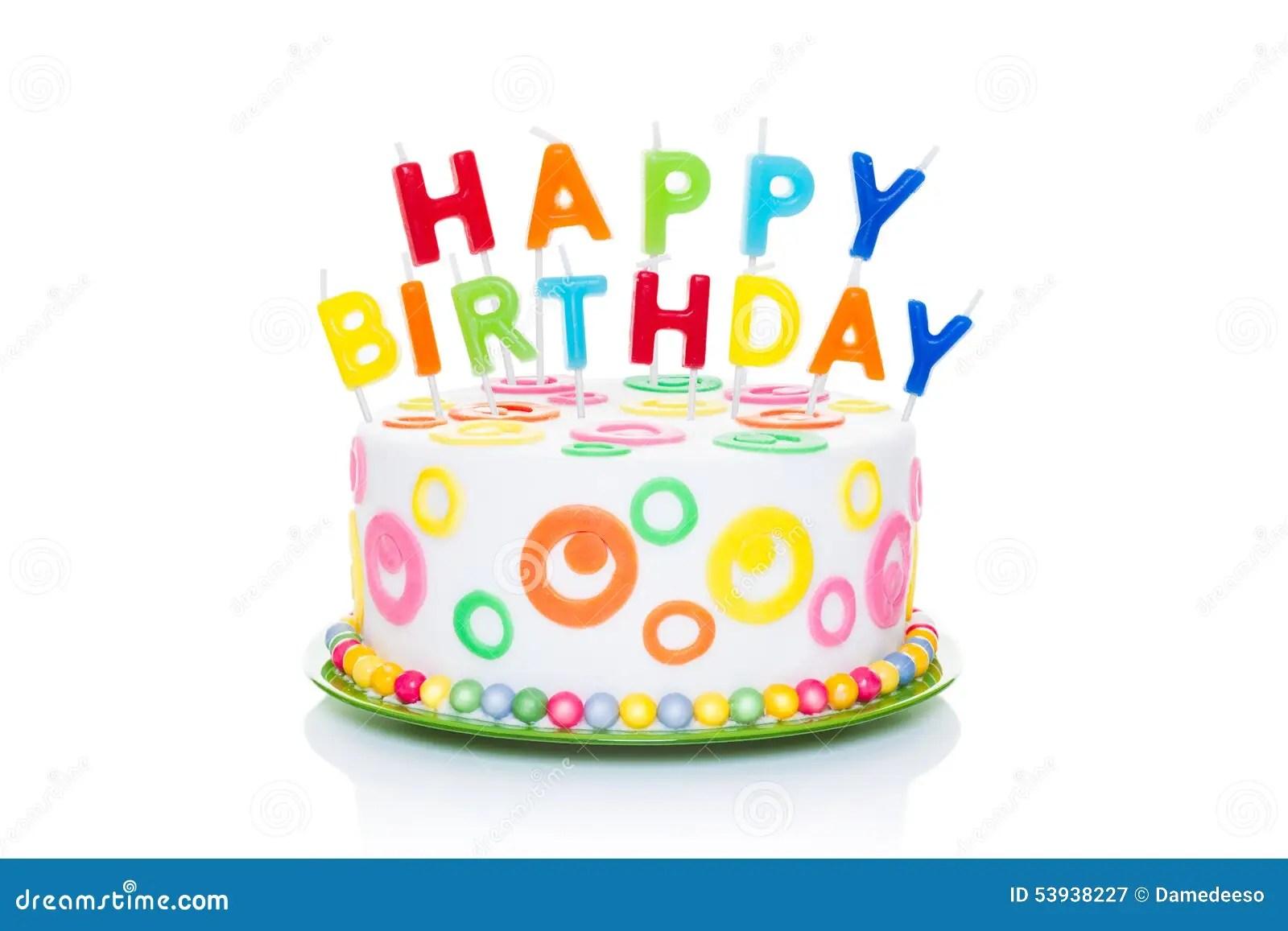 Gelukkige Verjaardag Stock Afbeelding Afbeelding