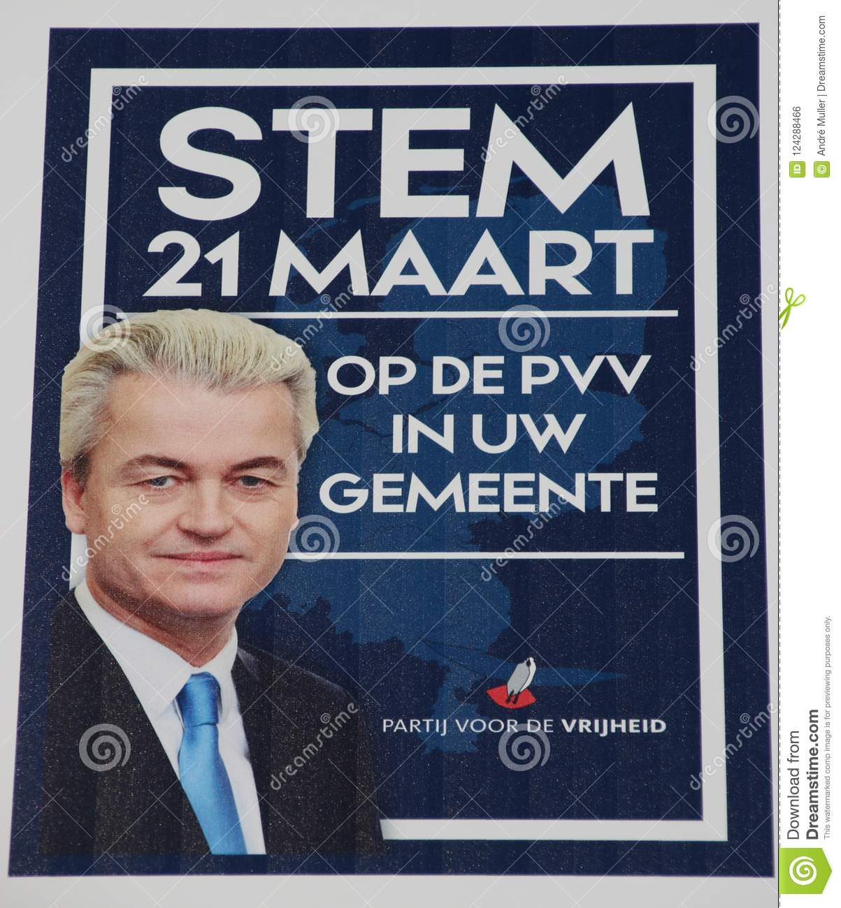 general election poster of