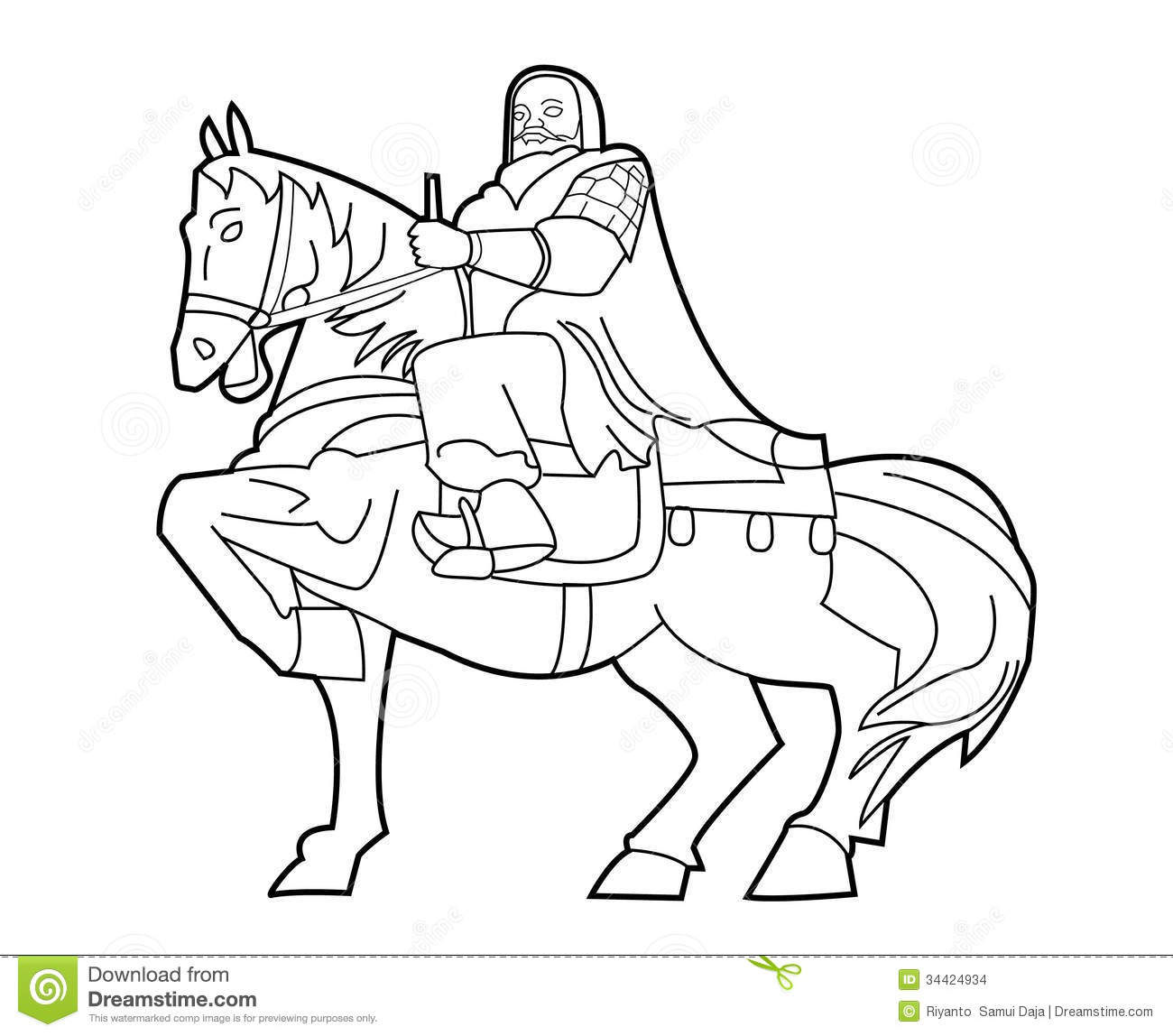 Genghis Khan Stock Vector Illustration Of Genghis