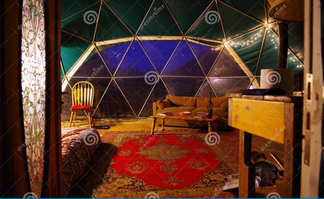 Geodesic Dome Rental From Airbnb In The Blue Ridge