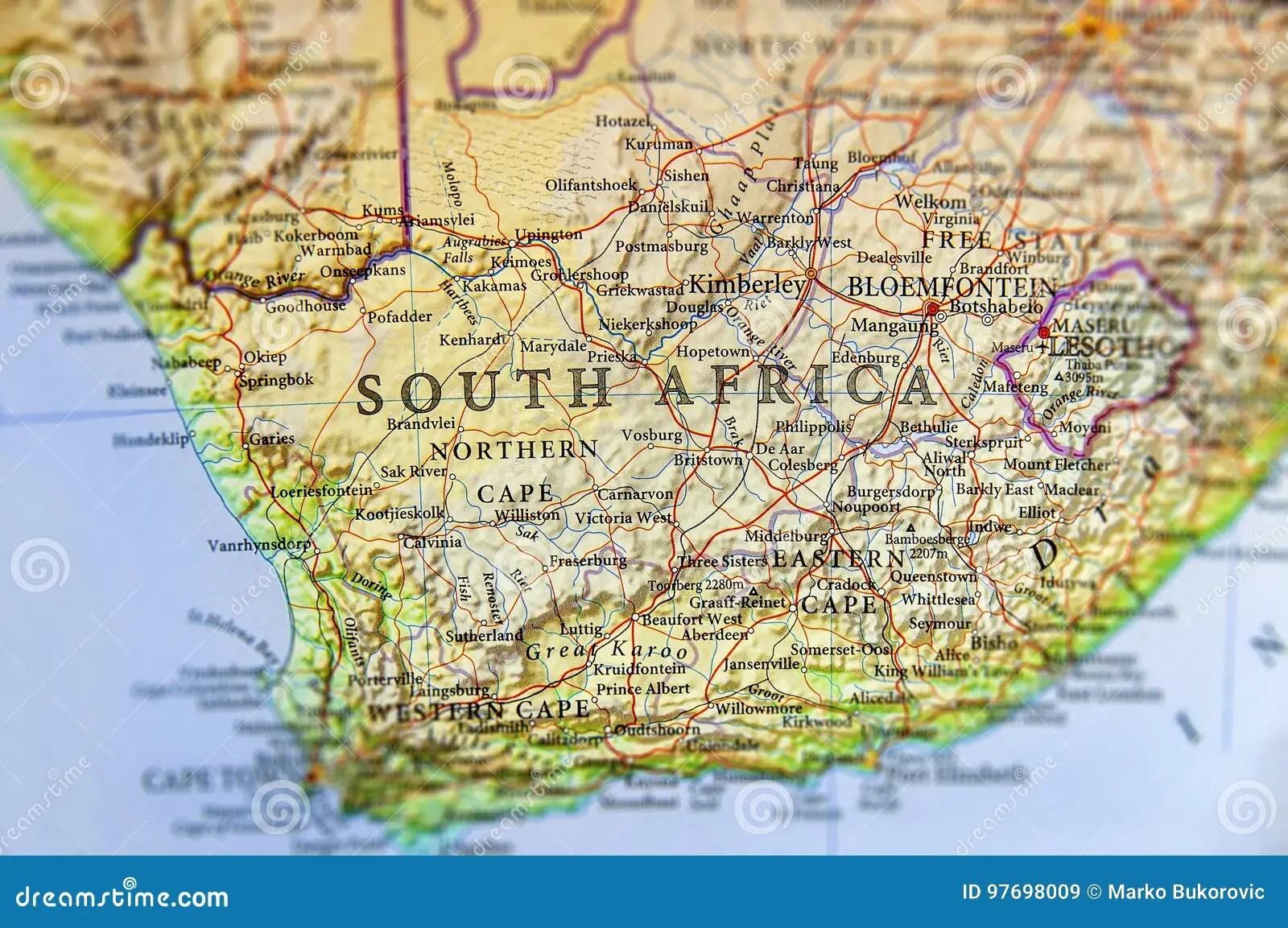 Cartina Muta Del Sudafrica.Cartina Sudafrica Fisica In Italiano Relyrelytime