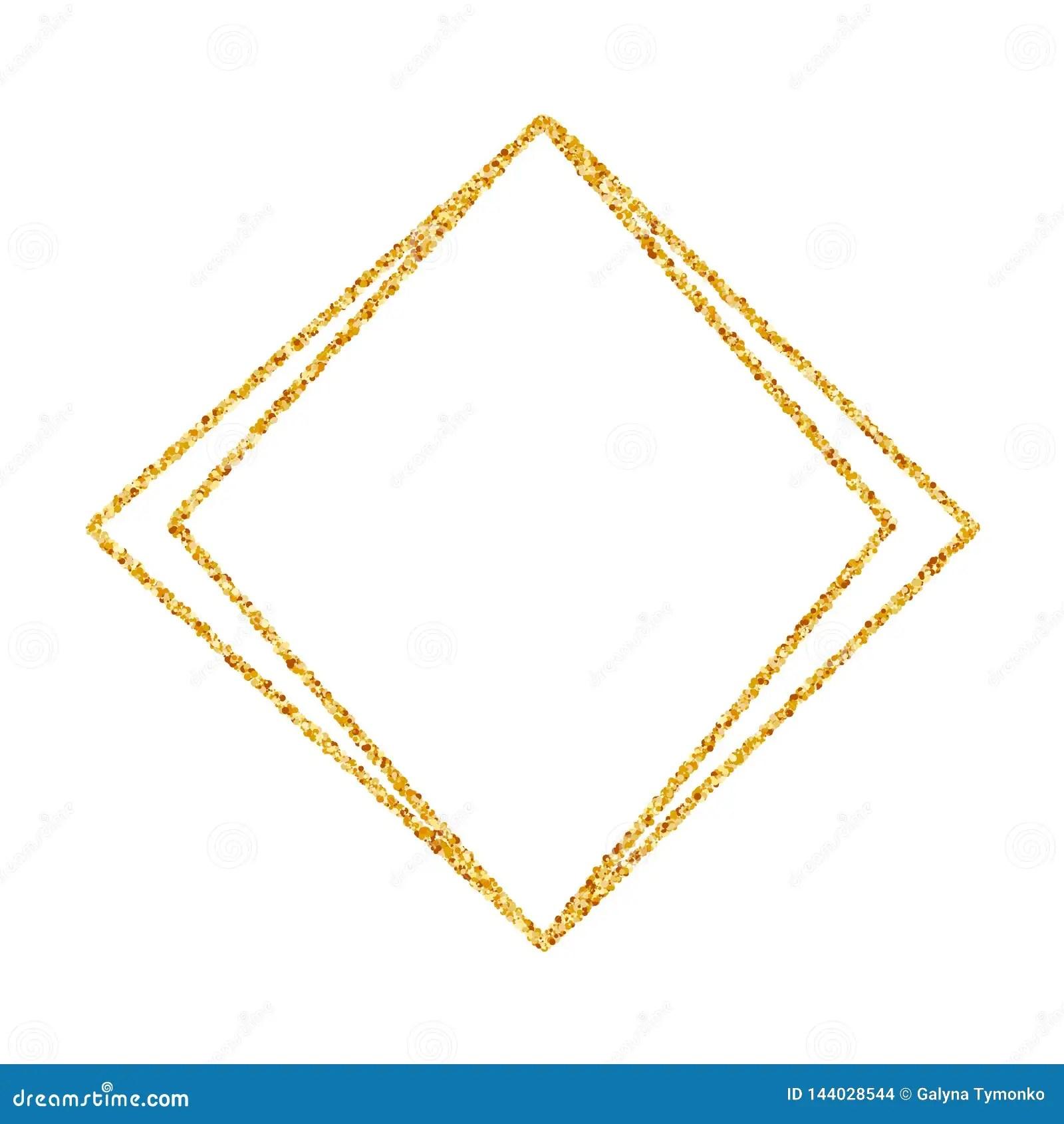 https www dreamstime com geometric gold frame wedding birthday invitation background vector modern design template brochure poster greetina card art image144028544