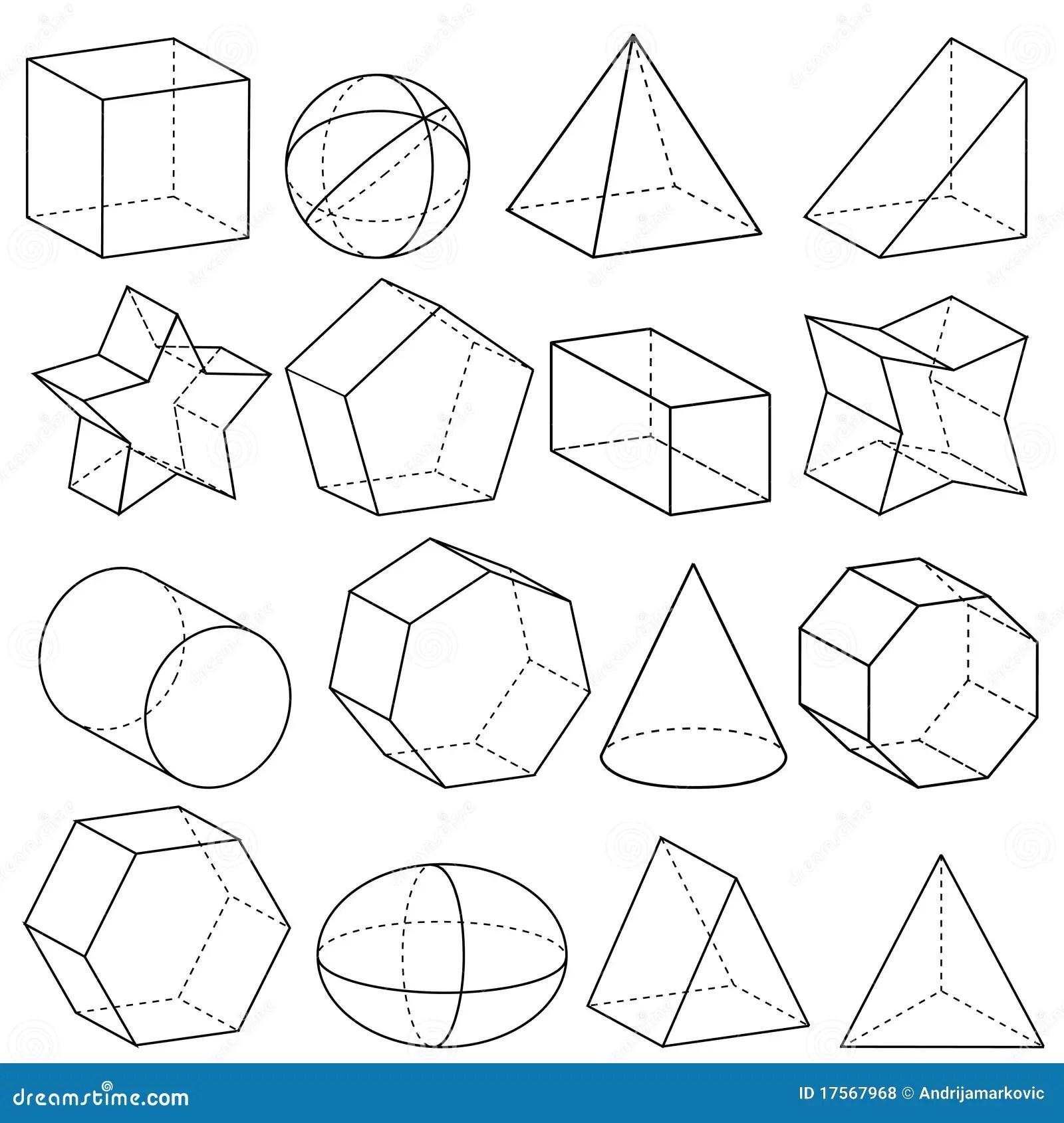 Geometrie Vektor Abbildung Illustration Von Tafel
