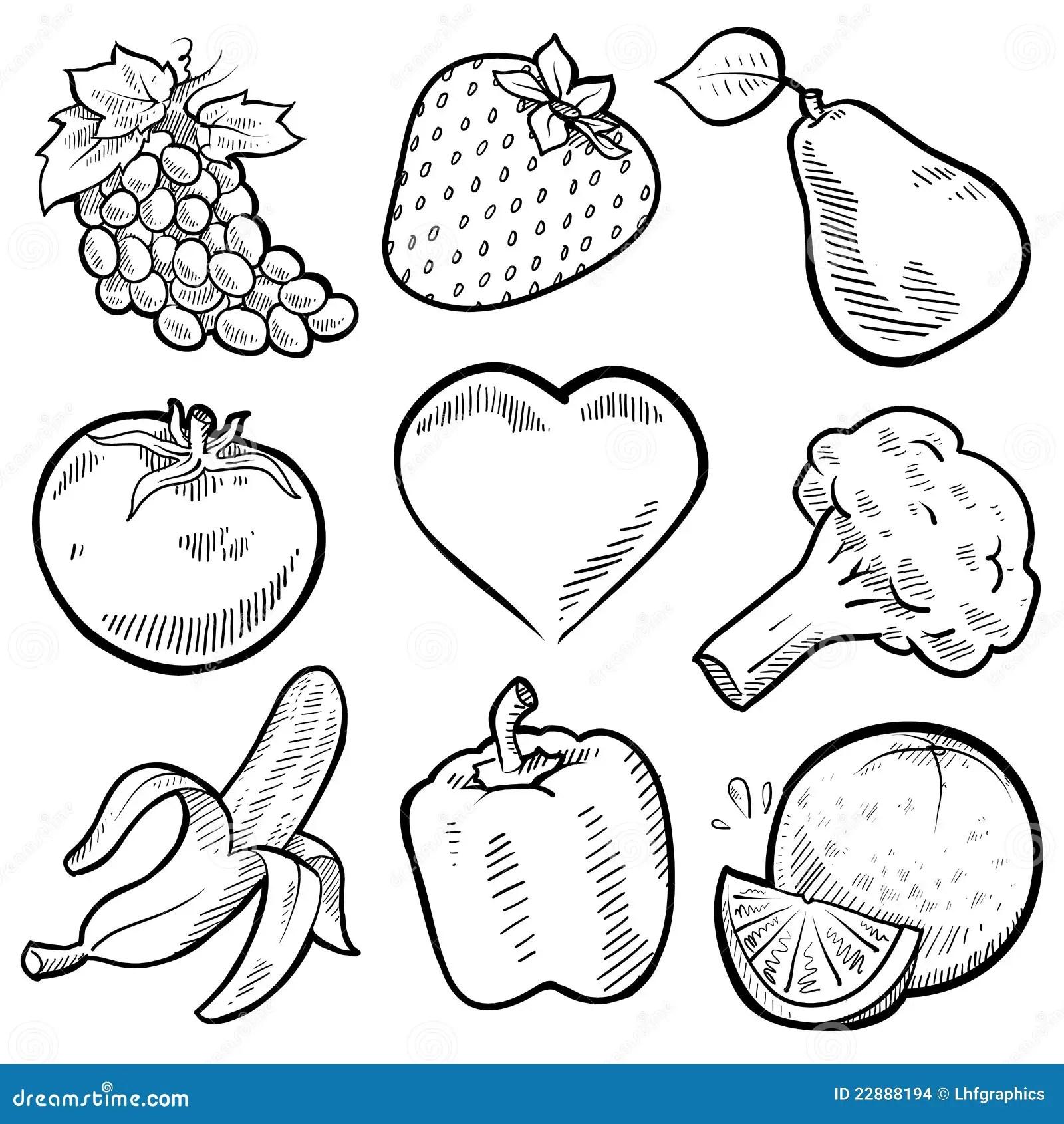 Gesunde Obst Und Gemuse Des Inneren Stockbilder