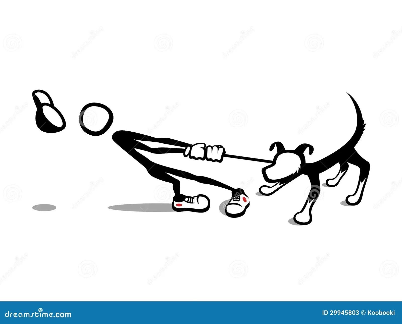 Stick Man Reluctant Dog Stock Photos