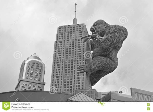 King Kong Classic Hollywood Movie Stock #52321046