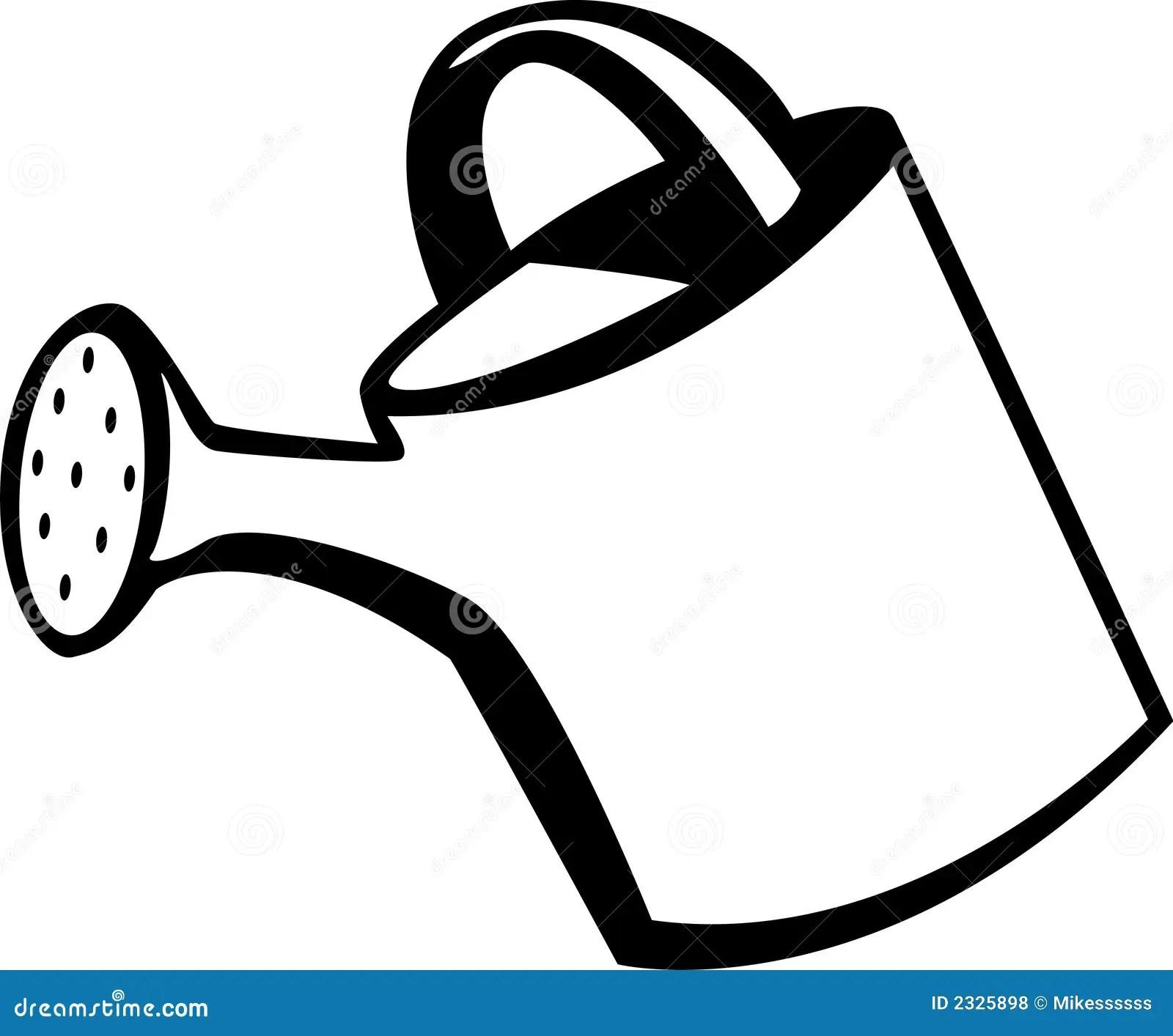 Gieter vector illustratie. Illustratie bestaande uit