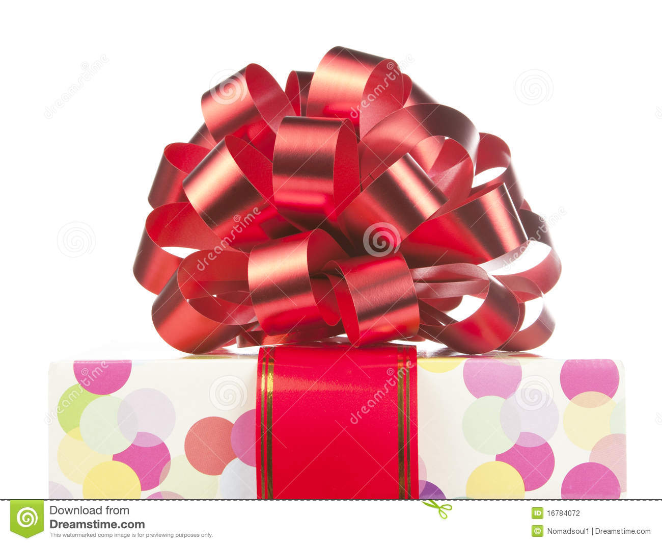gift with big red