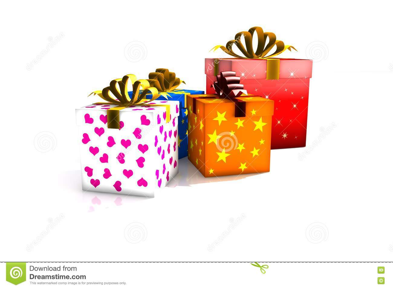 T Boxes Stock Illustration Illustration Of Glossy