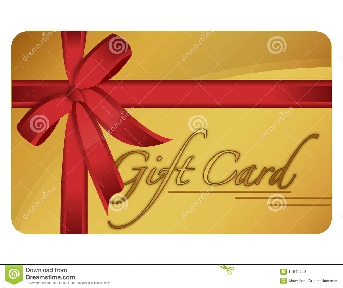 Gift Card Stock Vector Image Of Certificate Card Money
