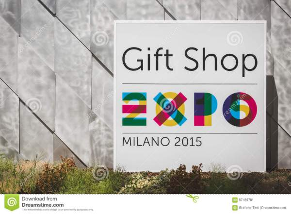 Sign Expo 2015 In Milan Italy Editorial