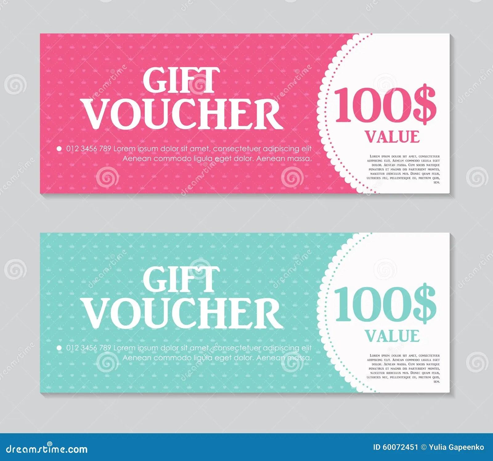 samples of vouchers – Voucher Sample Design