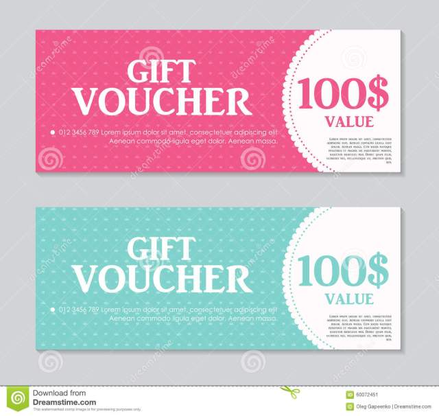 sample gift certificate free download