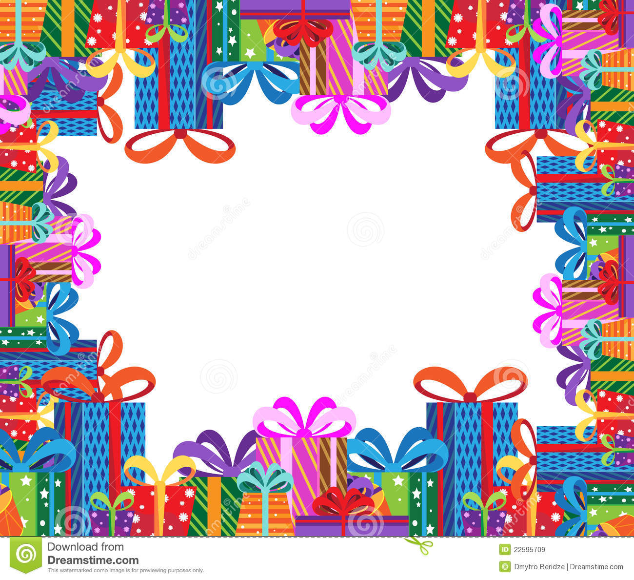 Gifts Frame Royalty Free Stock Images Image 22595709
