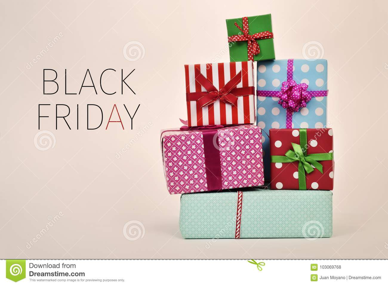 gifts and text black