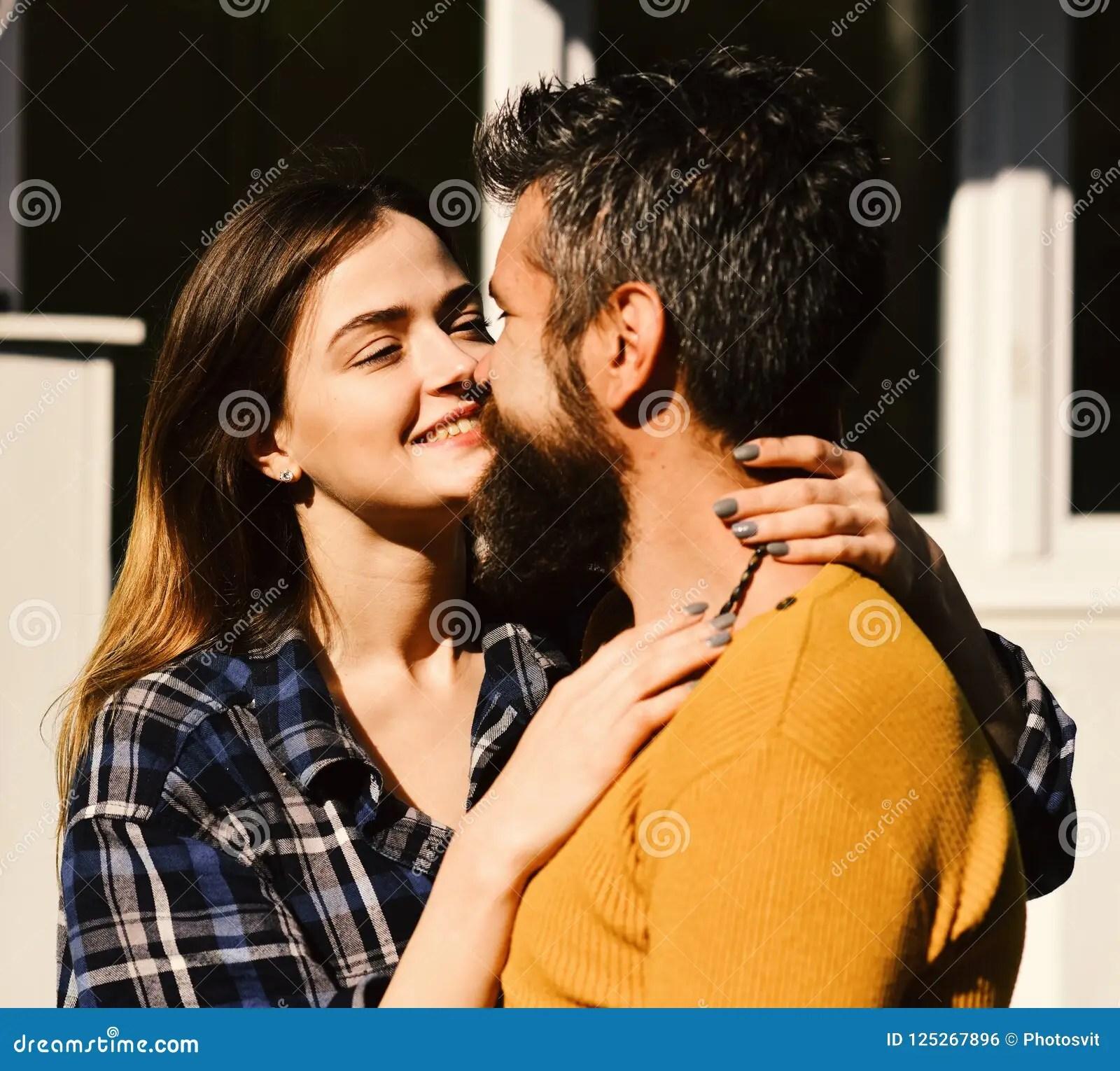 girl and bearded guy