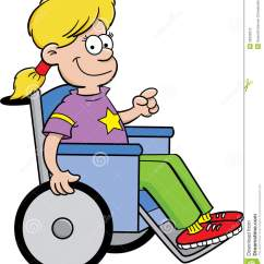 Wheelchair Genius How To Recover A Rocking Chair Pad Girl In Stock Photos Image 26335613