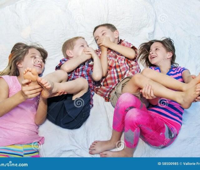 Girls Tickling Boys Feet
