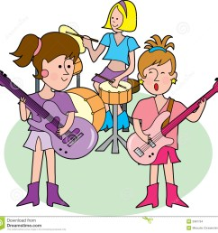 girly rock band [ 1300 x 1258 Pixel ]