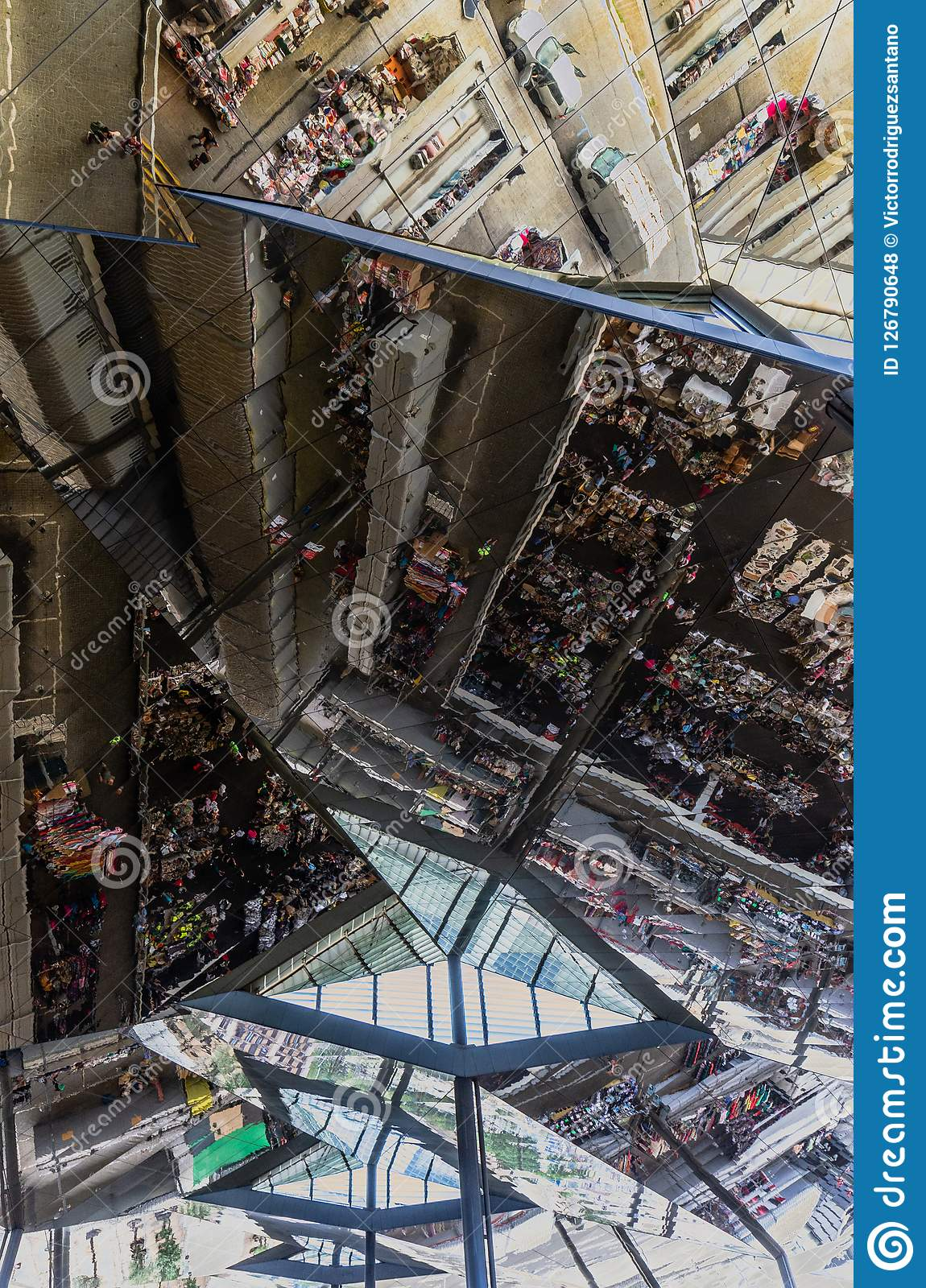 Glass Ceiling In Barcelona Editorial Stock Photo Image Of