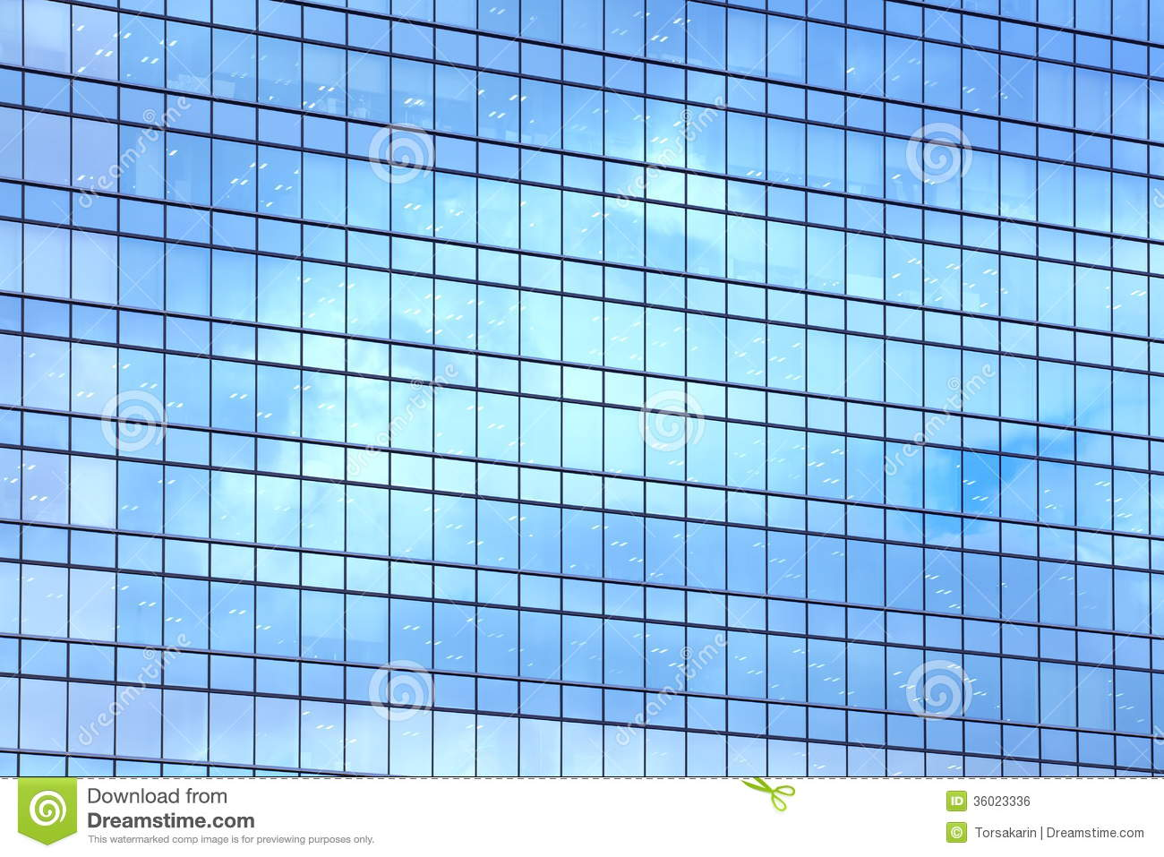 Glass facade stock photo Image of headquarters downtown