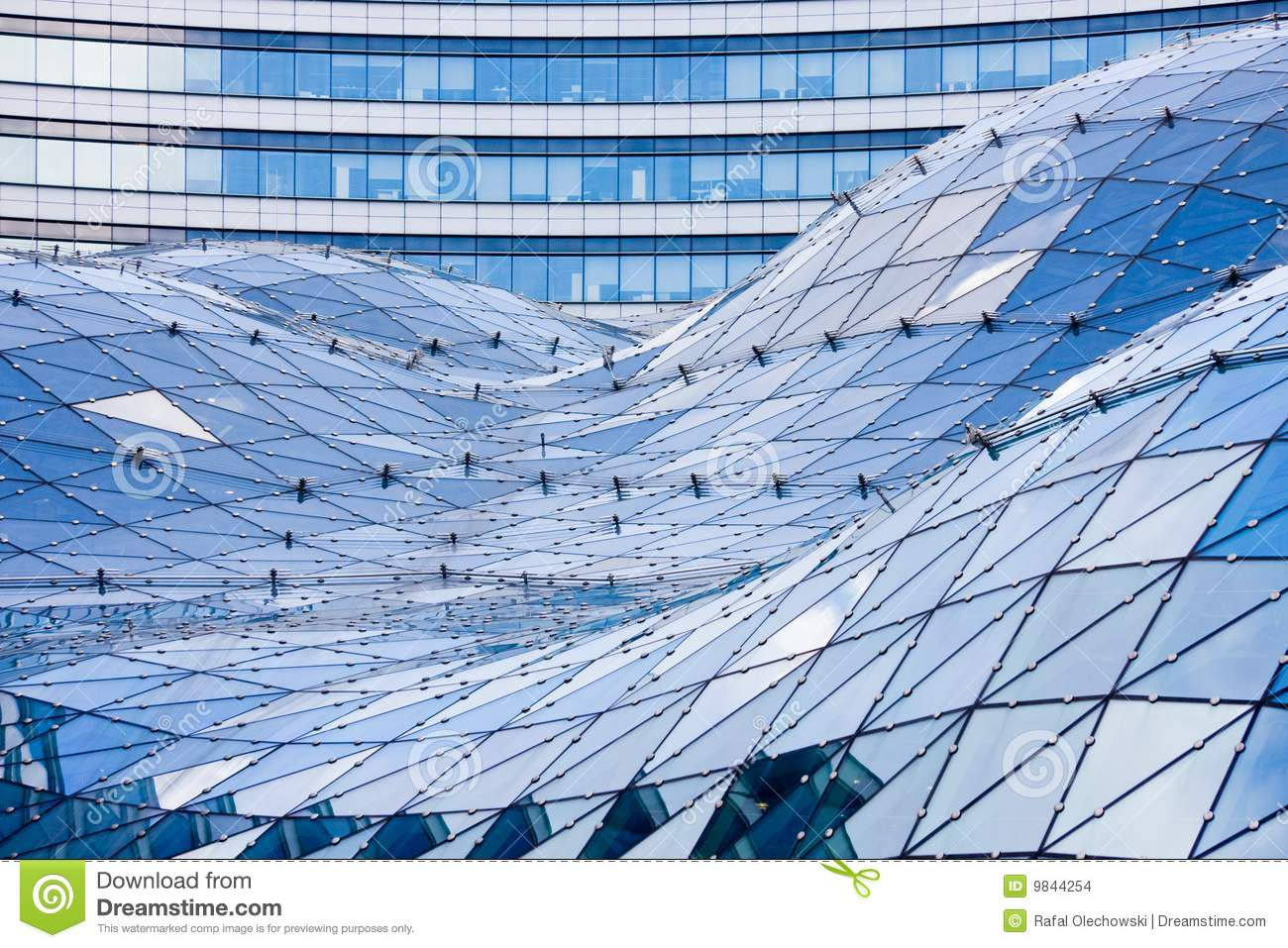 s stock s glass roof modern building