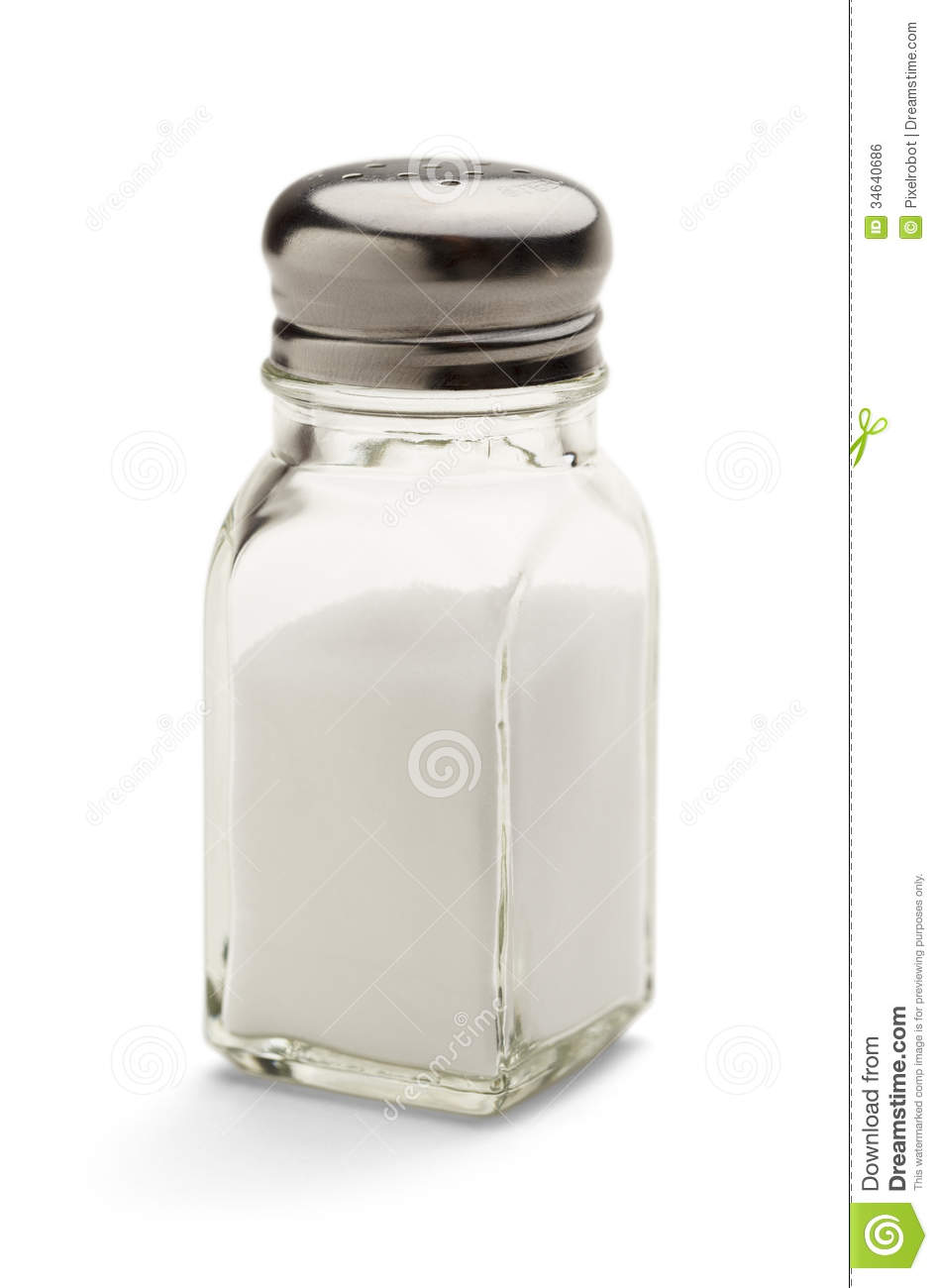 Glass Salt Shaker stock photo Image of salty image