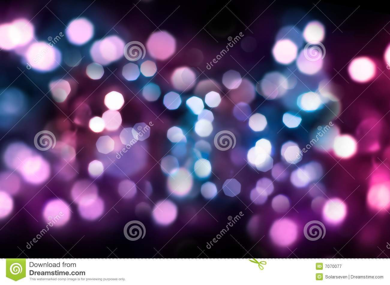 Glittering Lights Royalty Free Stock Photography Image