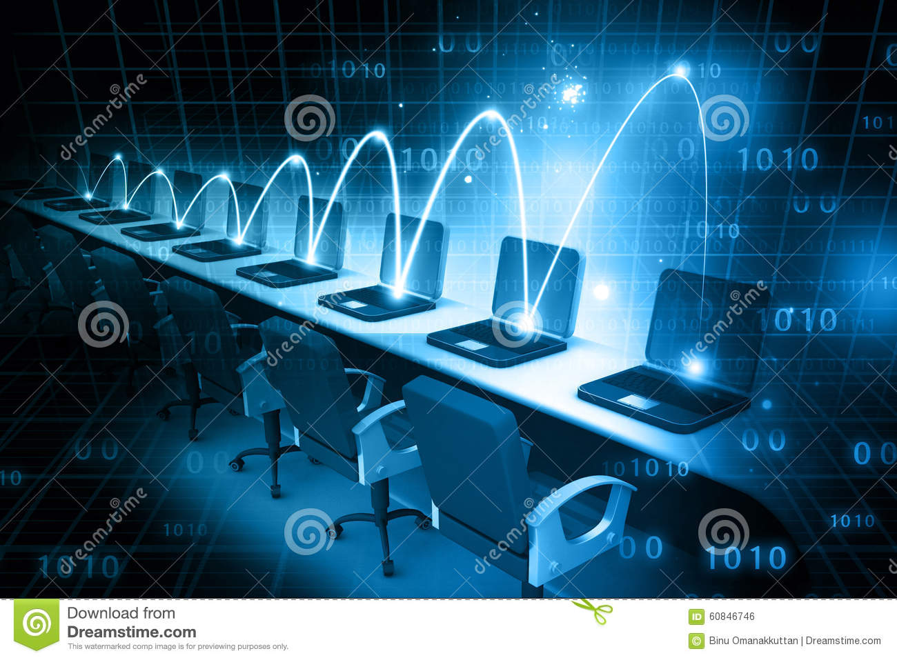 Global Computer network stock photo Image of futuristic