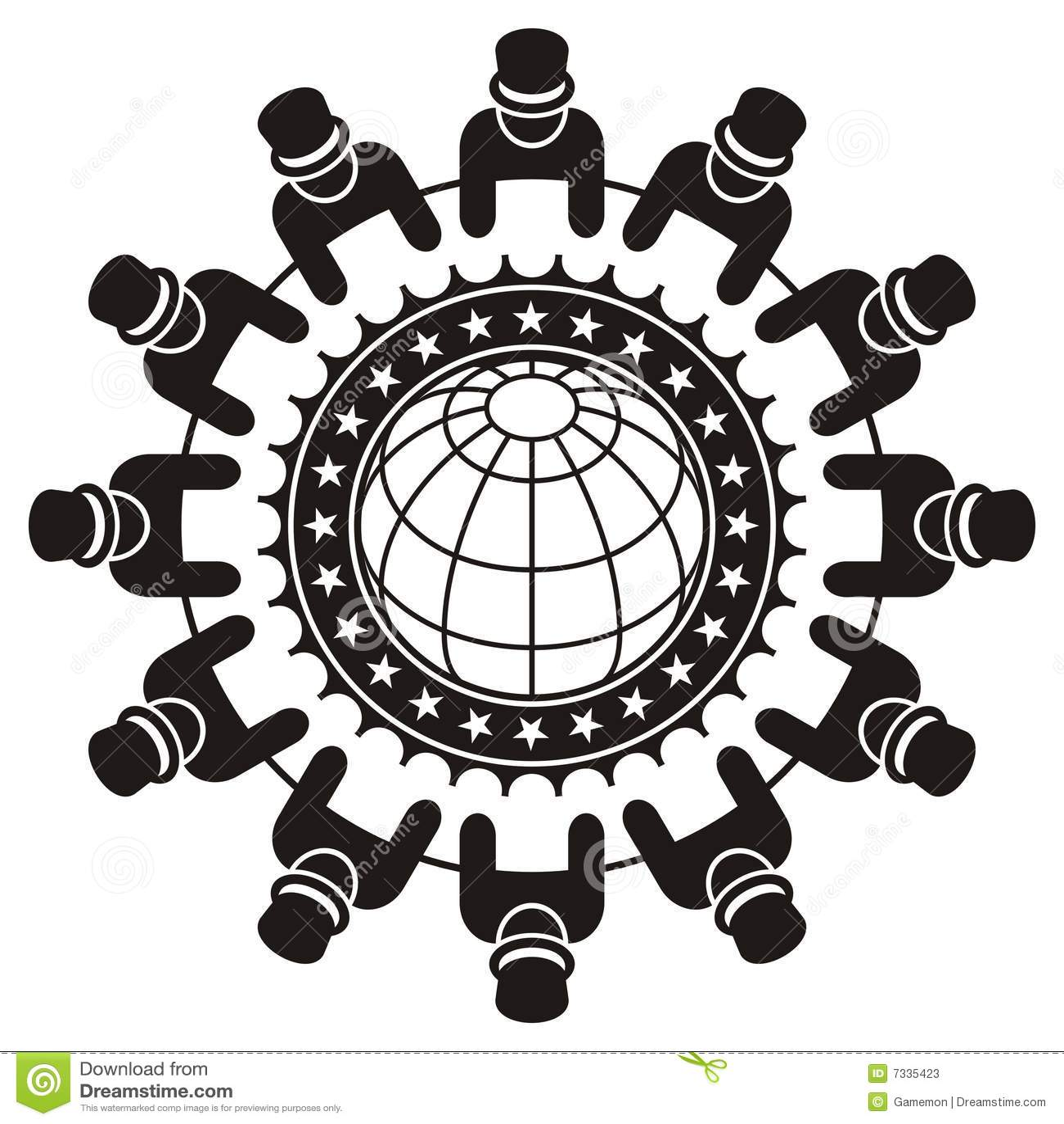 Global Leader Meeting Stock Photos