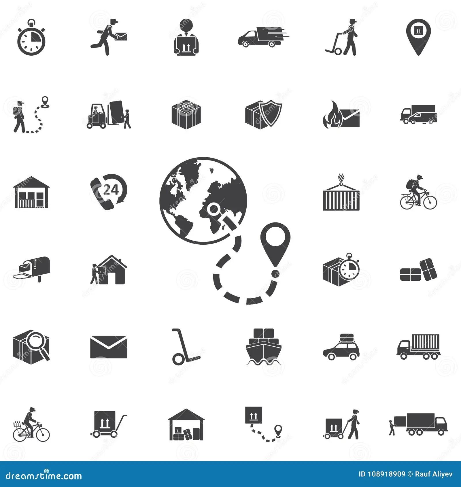 100 Eurasia Icons Set Cartoon Style Cartoon Vector