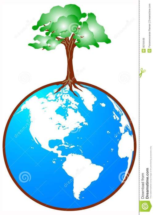 small resolution of download globe with tree stock vector illustration of retro country 8018448