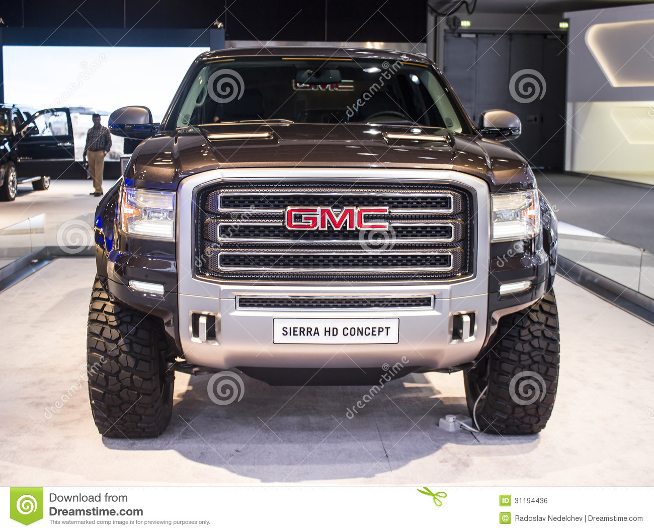hight resolution of dubai uae november 14 2011 gmc sierra hd concept on display at the dubai motor show uae