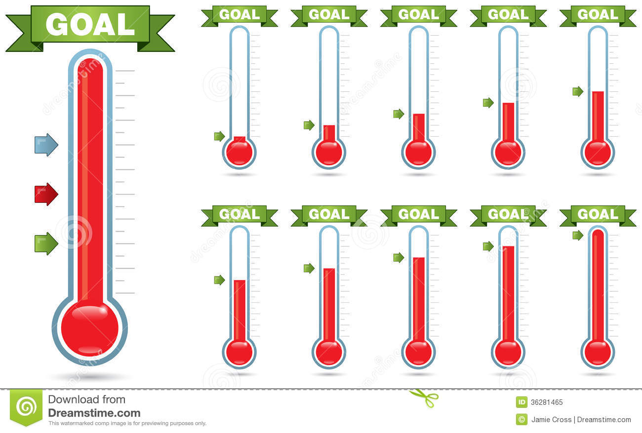 Goal Meter Pictures To Pin
