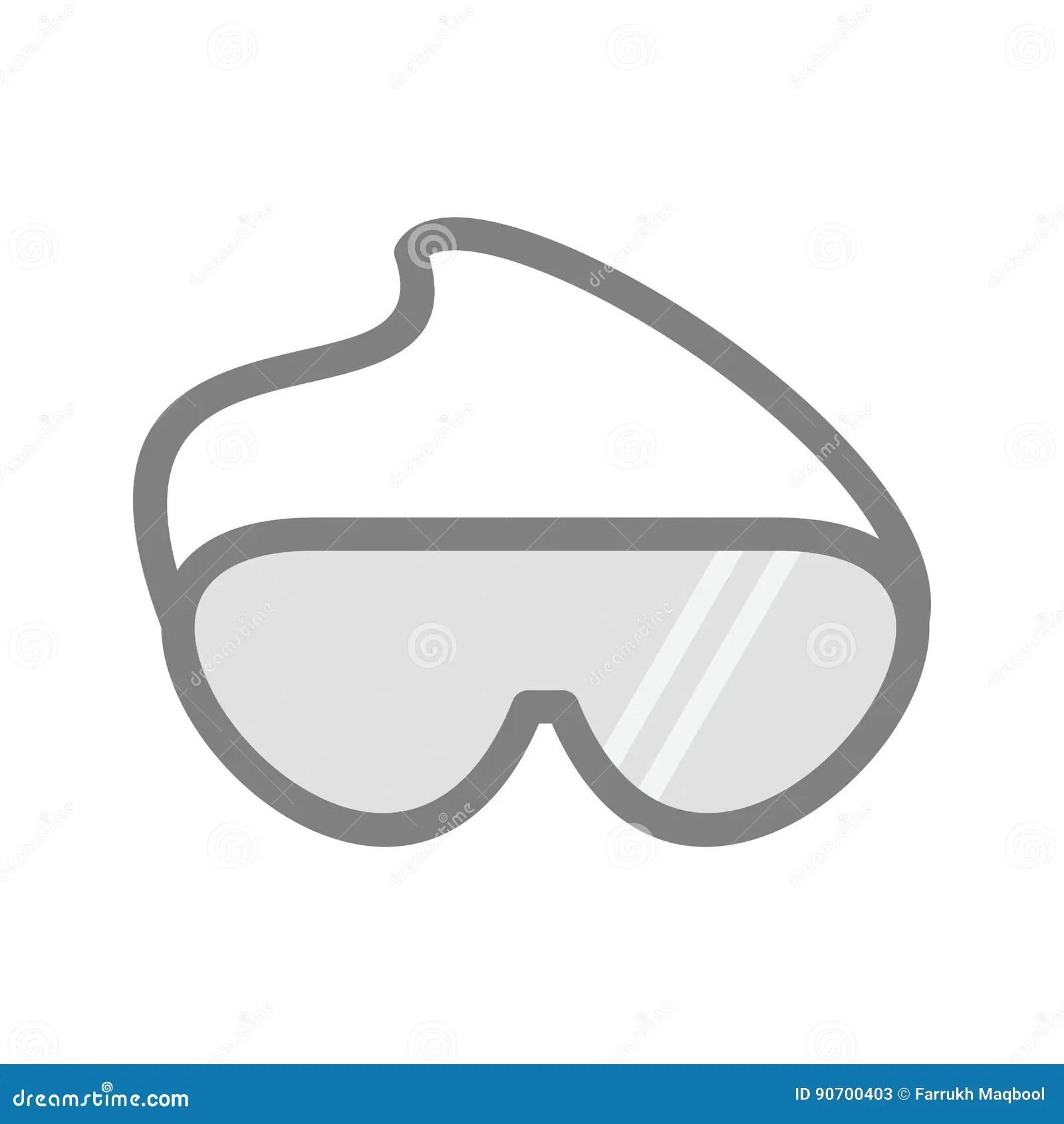 safety cartoon goggles always lab wear science