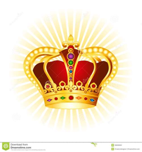 small resolution of golden crown clipart on glowing background