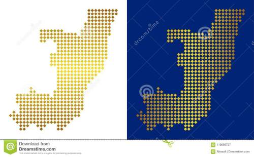 small resolution of gold dot republic of the congo map stock vector illustration of gold dot design gold dot diagram