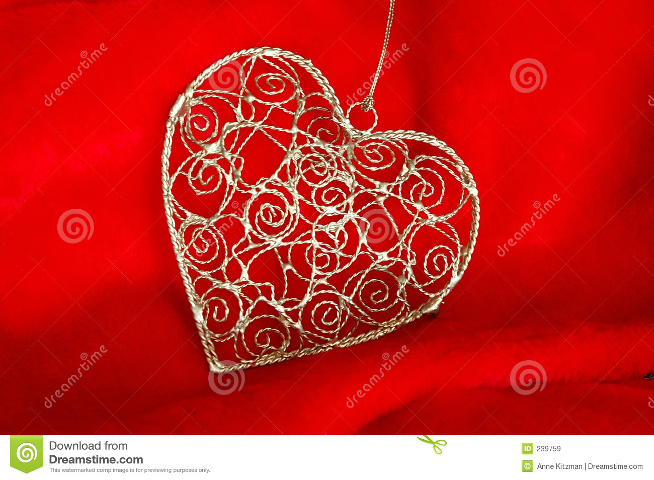 Heart Shaped Christmas Decorations