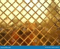 Gold Mosaic tile texture stock image. Image of dark ...
