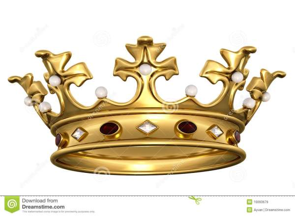 Golden crown stock illustration Illustration of heraldic
